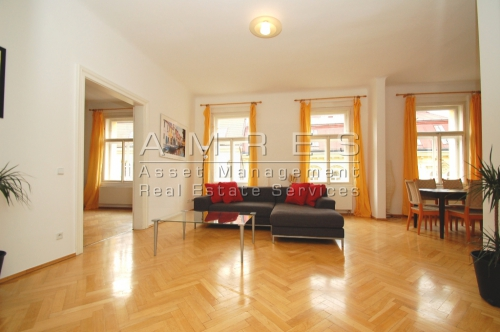 Very nice apartment 2+kk, 88 sq.m., Prague 2 Vinohrady, Manesova