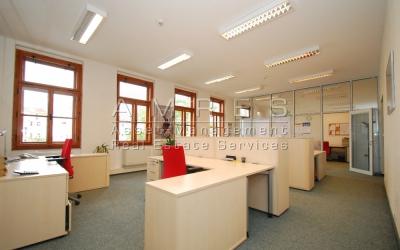 Office space 154,6 sq.m., Prague 2 - Vinohrady, Zahrebska
