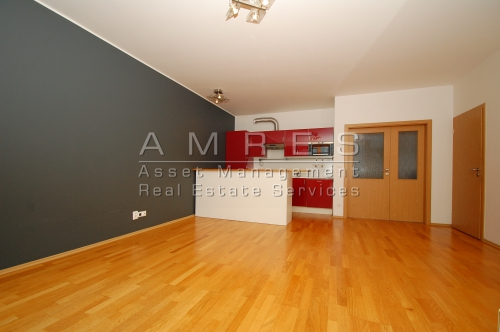 River view apartment 2+kk, 59 m2, with balcony and terrace, Prague 7- Holesovice