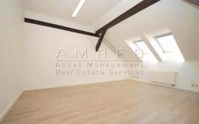 Rent of attic premises 75 sq.m., Praha 2 - Vinohrady, Mánesova