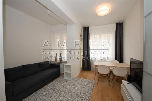 New, furnished studio, 28 m2, with a balcony, Praha 2- Vinohrady